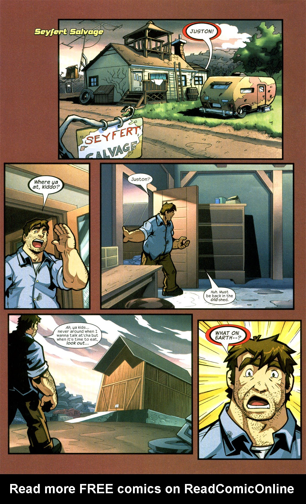 Read online Sentinel comic -  Issue #7 - 12