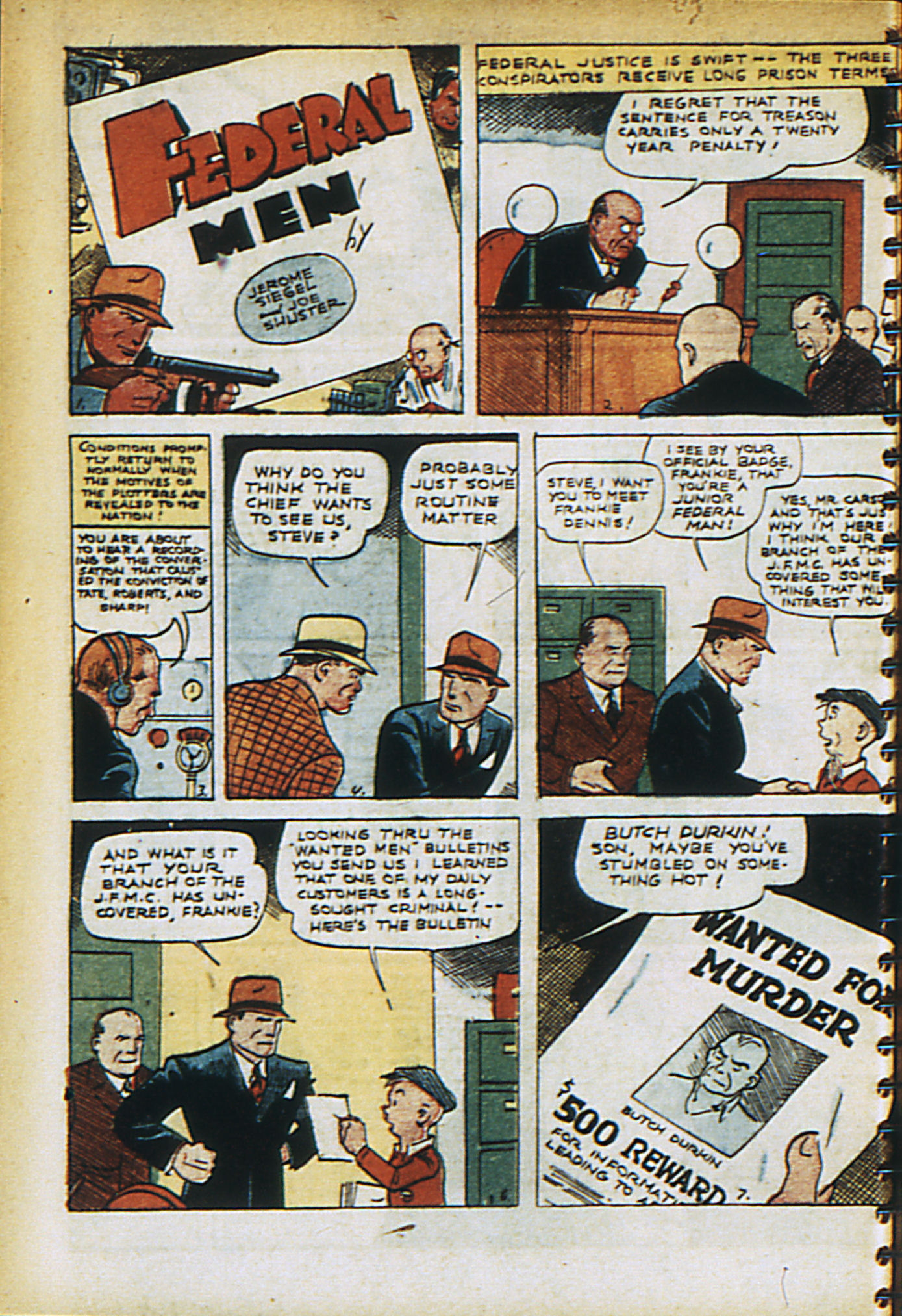 Read online Adventure Comics (1938) comic -  Issue #30 - 17