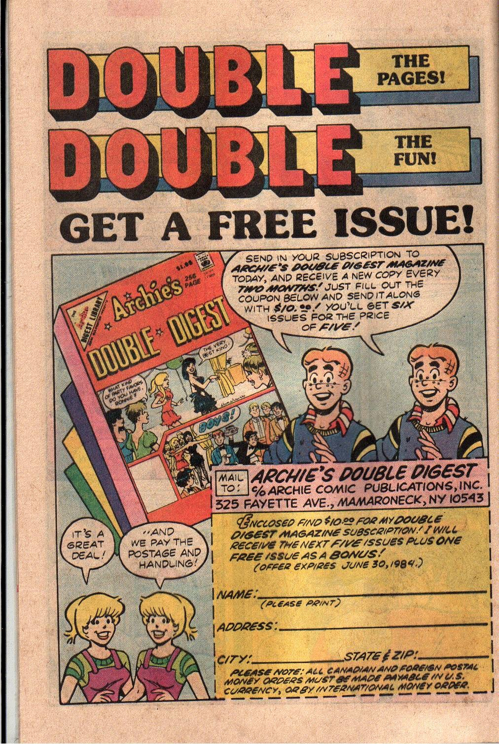Blue Ribbon Comics Issue 7 | Viewcomic reading comics online