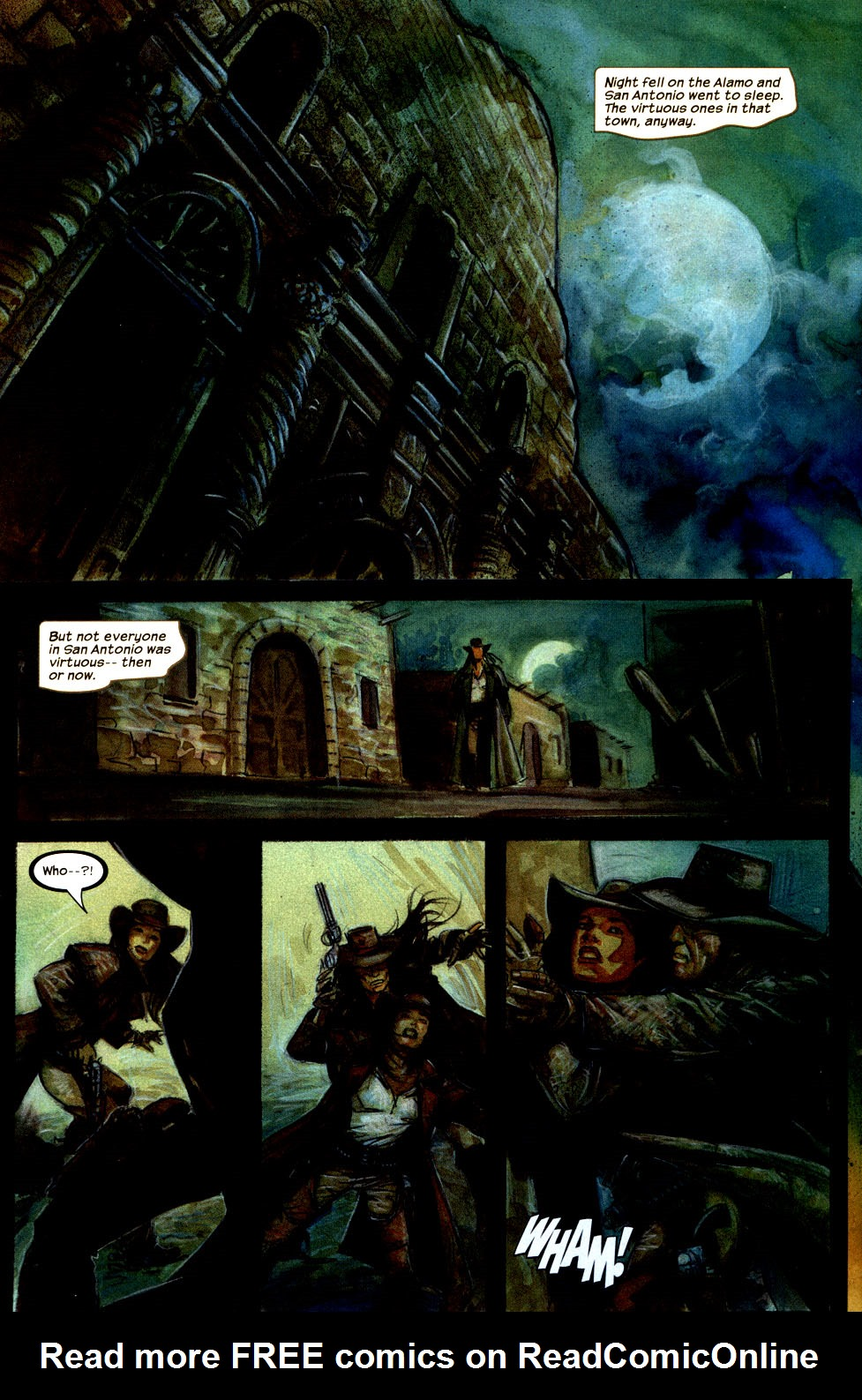 Read online Apache Skies comic -  Issue #3 - 5