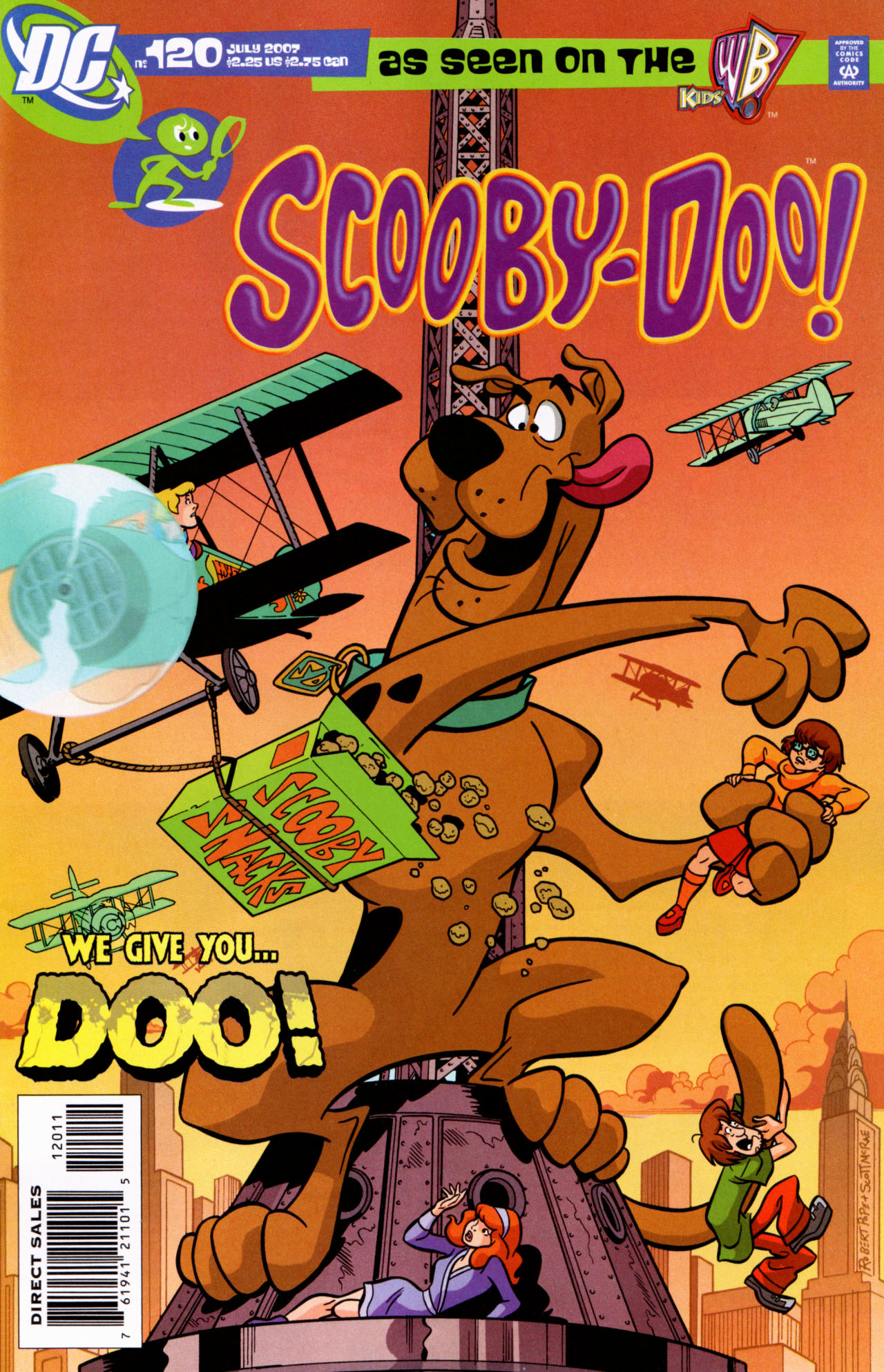 Read online Scooby-Doo (1997) comic -  Issue #120 - 1
