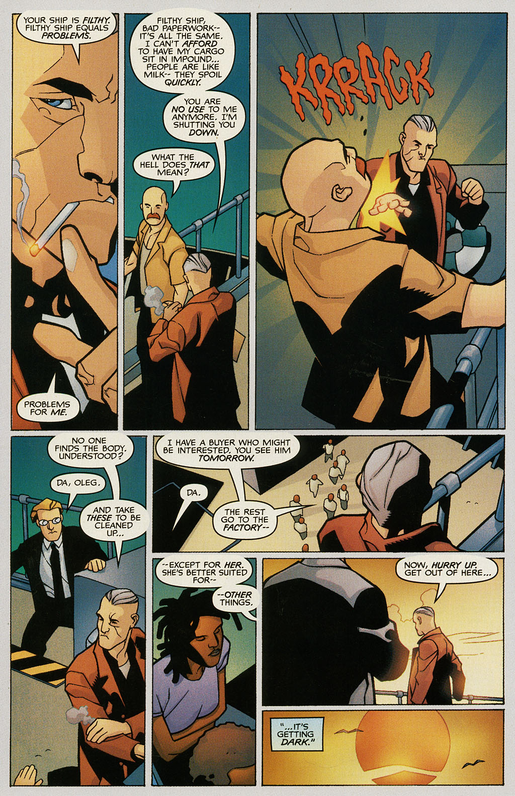 Read online Nightcrawler (2002) comic -  Issue #1 - 7