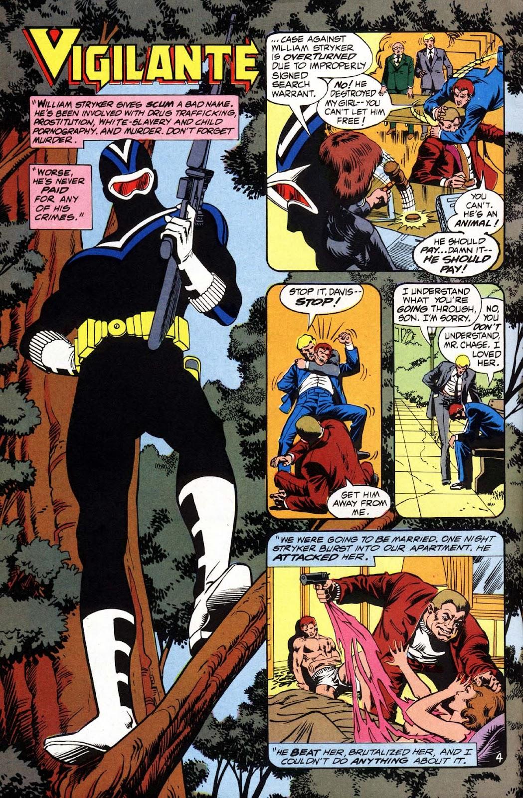 Vigilante (1983) issue 3 - Page 5