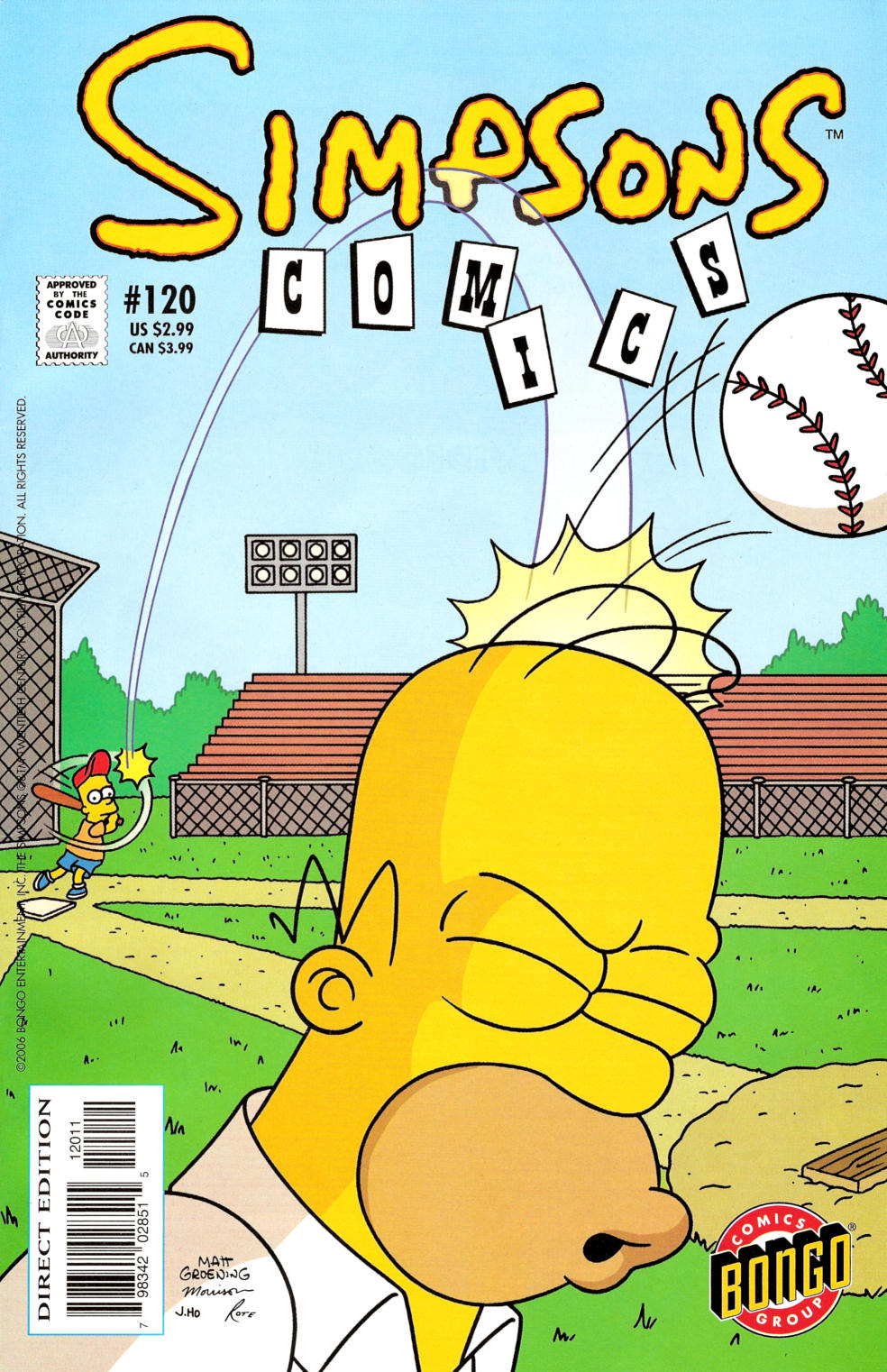 Read online Simpsons Comics comic -  Issue #120 - 1