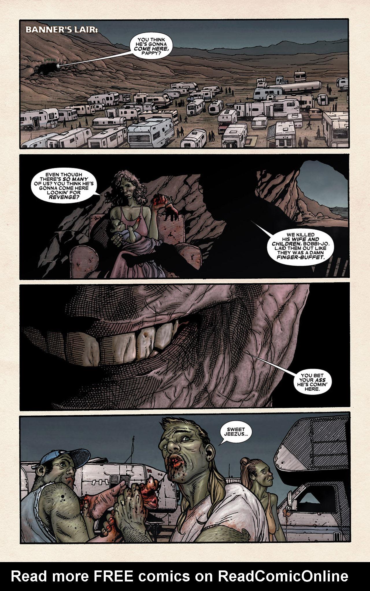 Read online Wolverine: Old Man Logan comic -  Issue # Full - 175