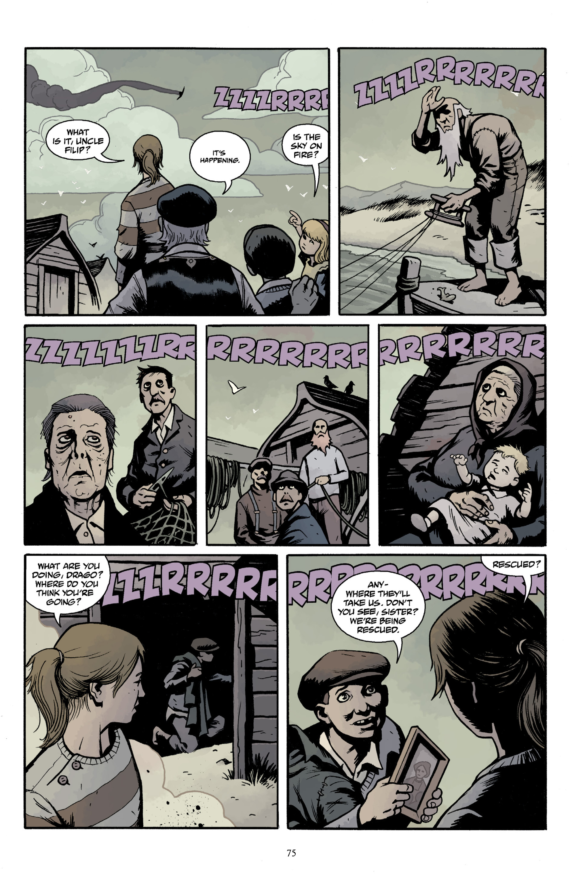 Read online Baltimore Volume 3: A Passing Stranger and Other Stories comic -  Issue # Full - 77