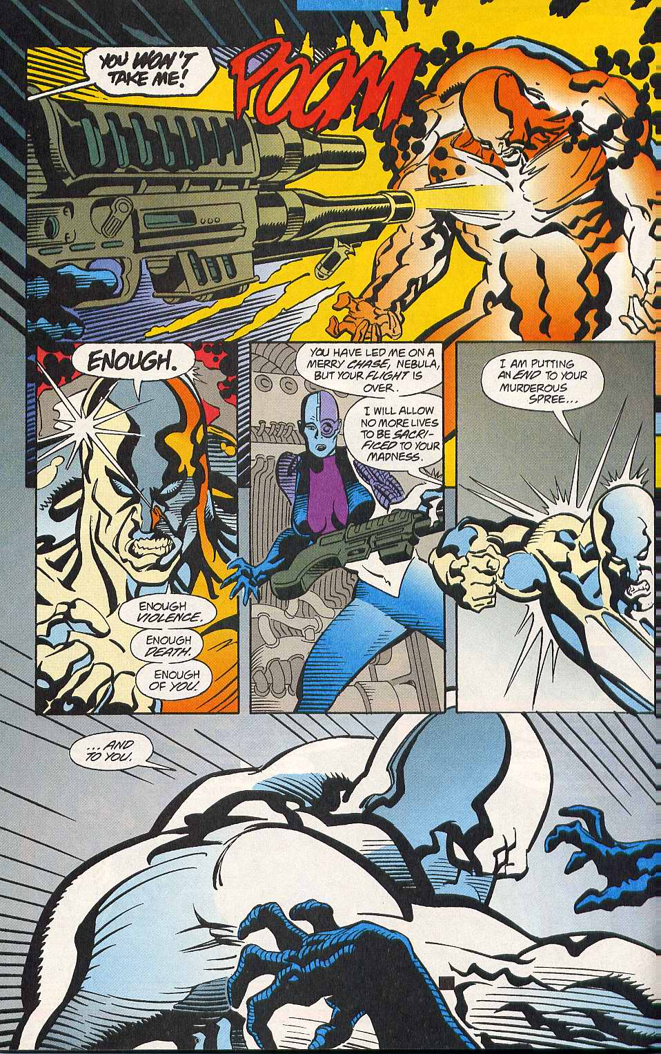 Read online Secret Defenders comic -  Issue #10 - 19