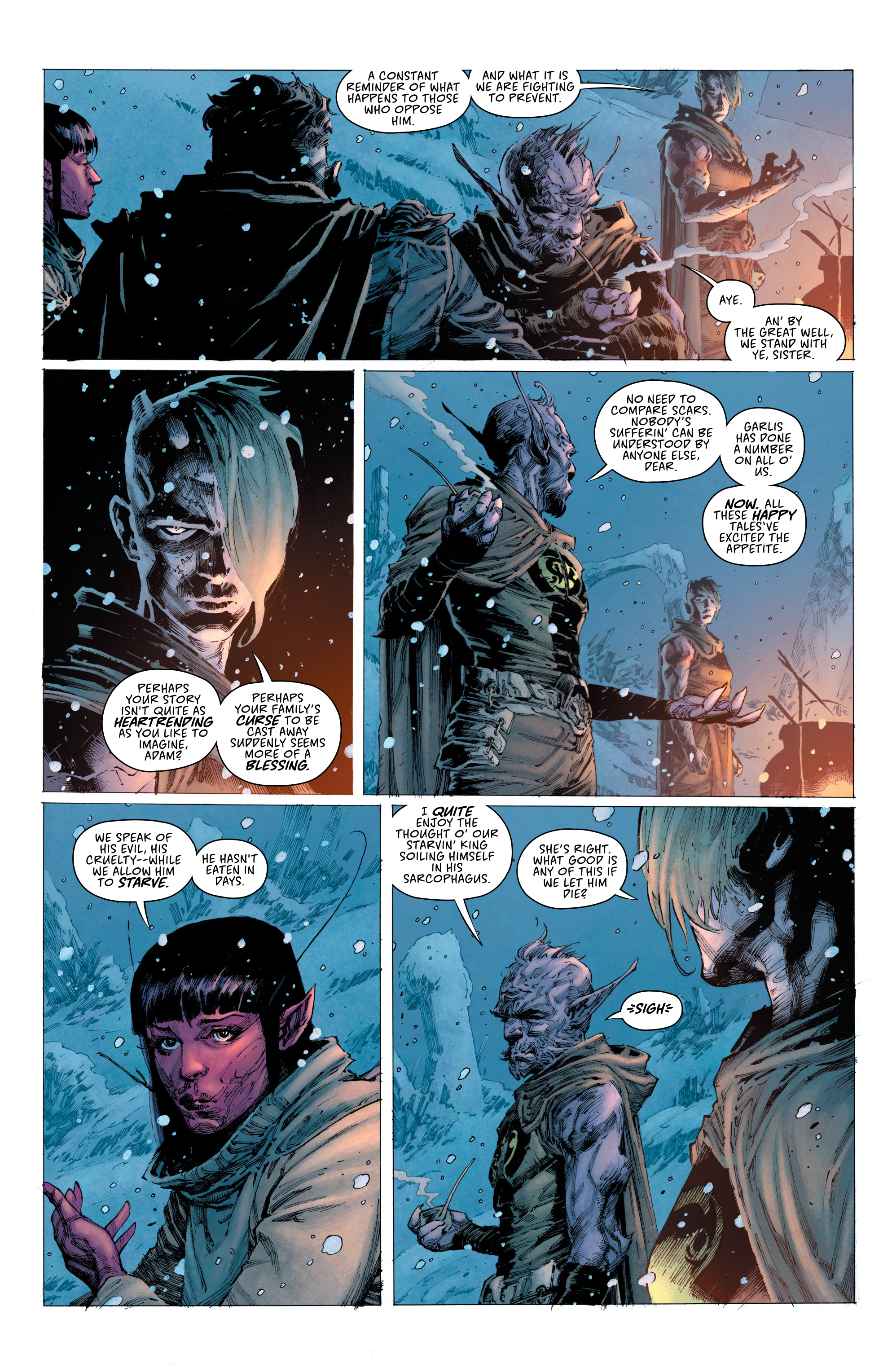 Read online Seven To Eternity comic -  Issue #4 - 9