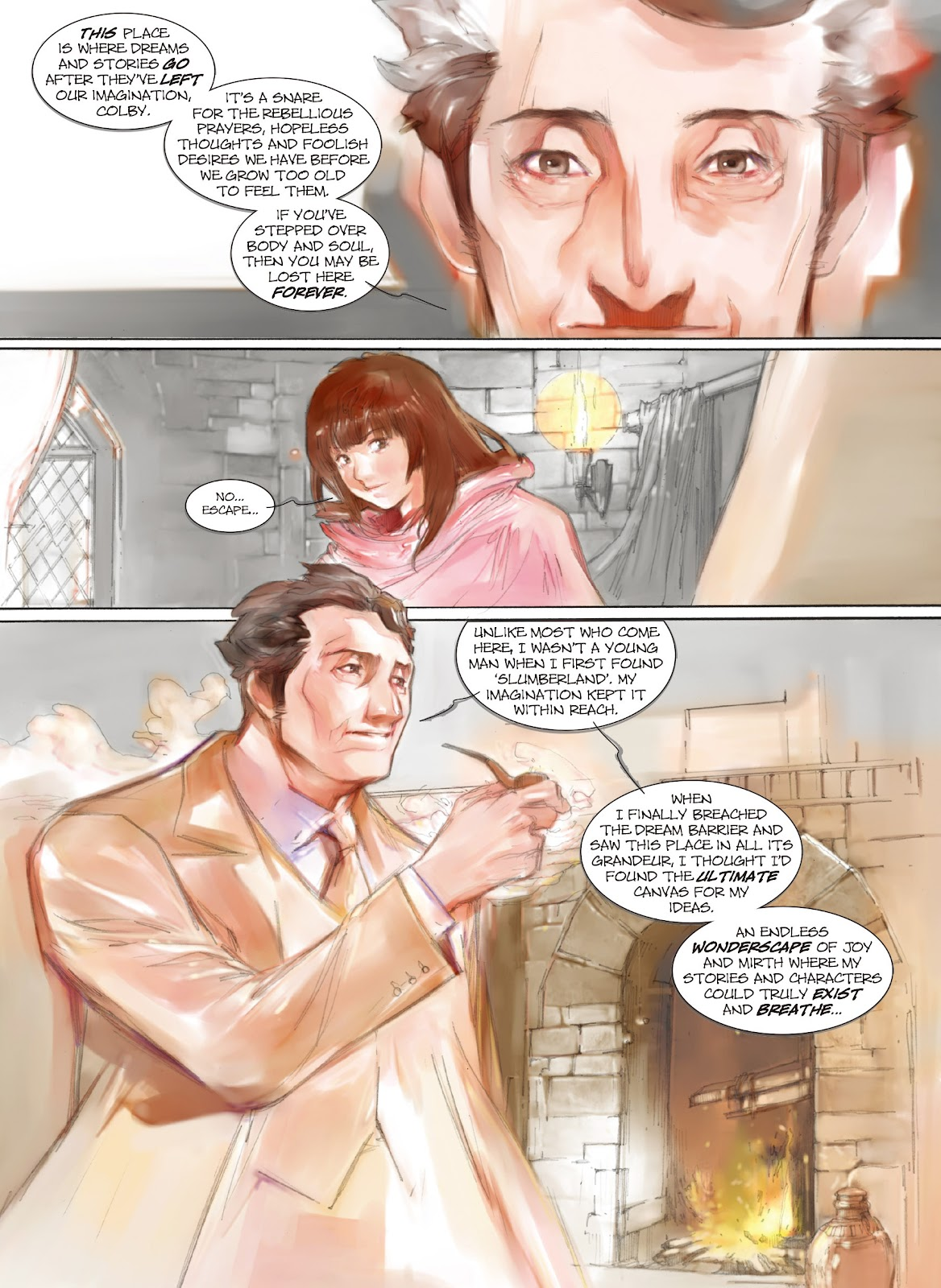 Read online Makeshift Miracle: The Girl From Nowhere comic -  Issue #9 - 6
