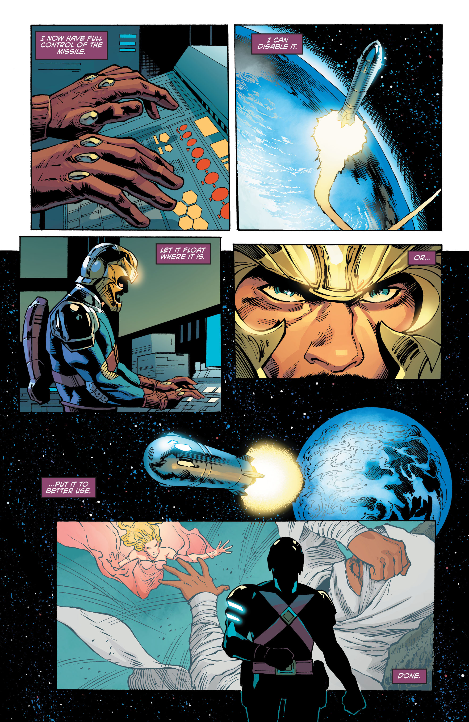 Read online Aquaman and the Others comic -  Issue #11 - 8