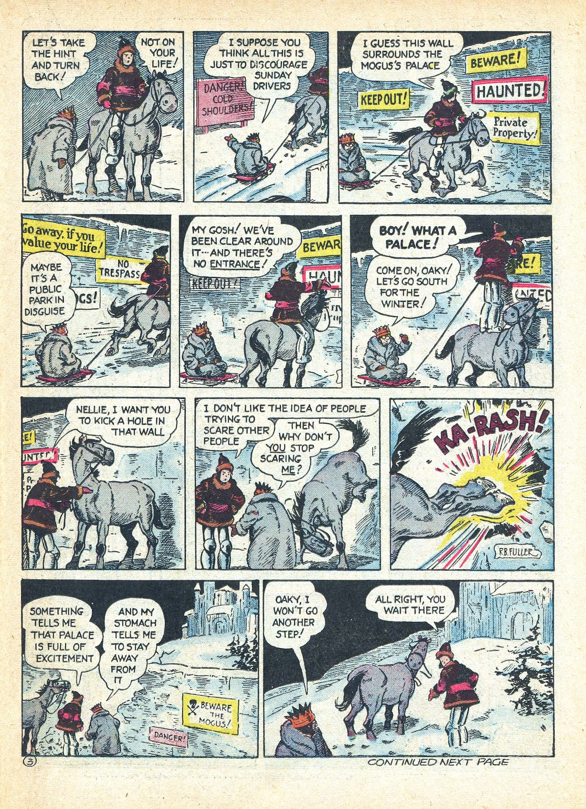 Read online Famous Funnies comic -  Issue #95 - 44