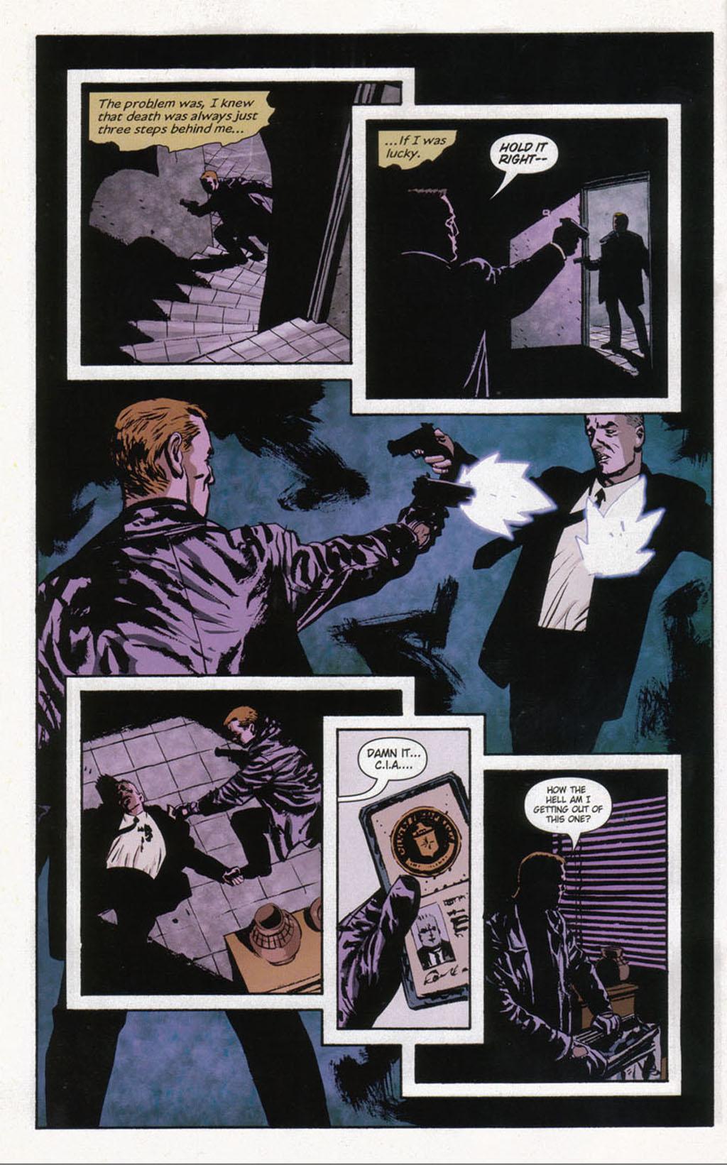Read online Sleeper comic -  Issue #12 - 6