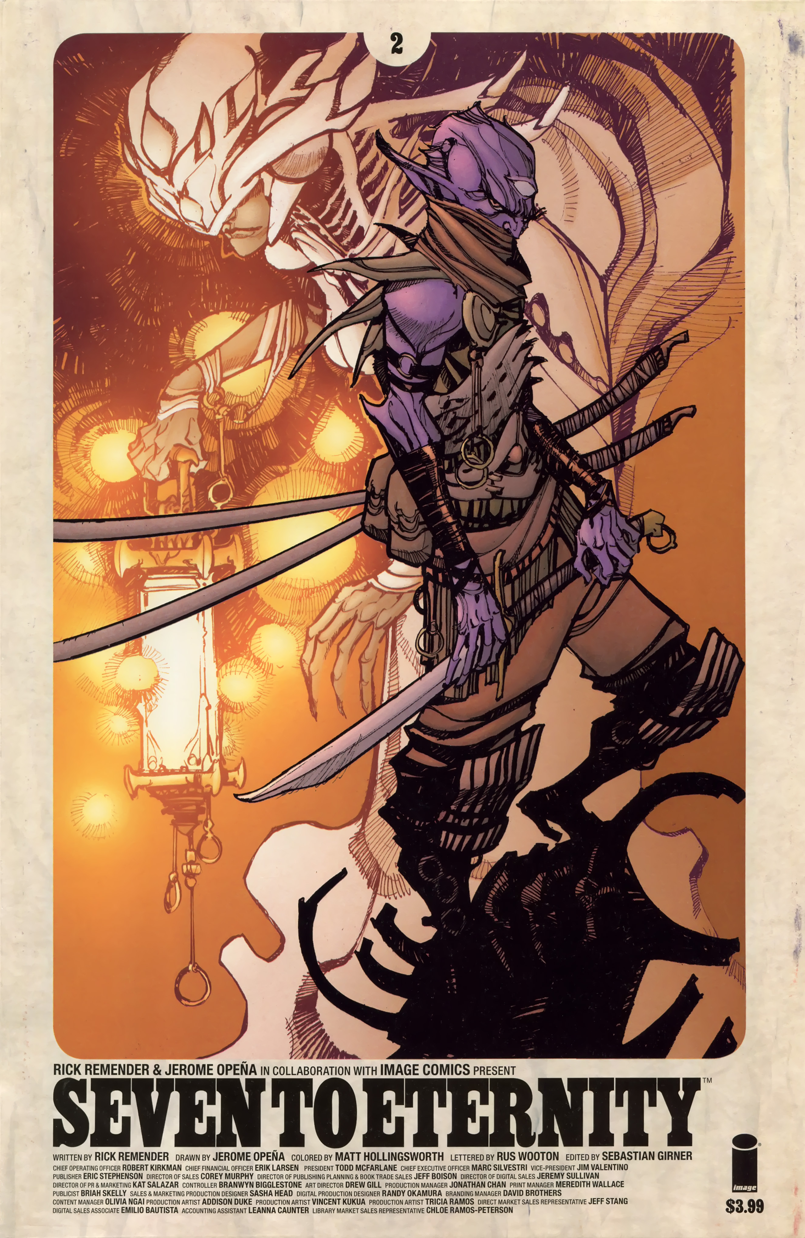 Read online Seven To Eternity comic -  Issue #2 - 2