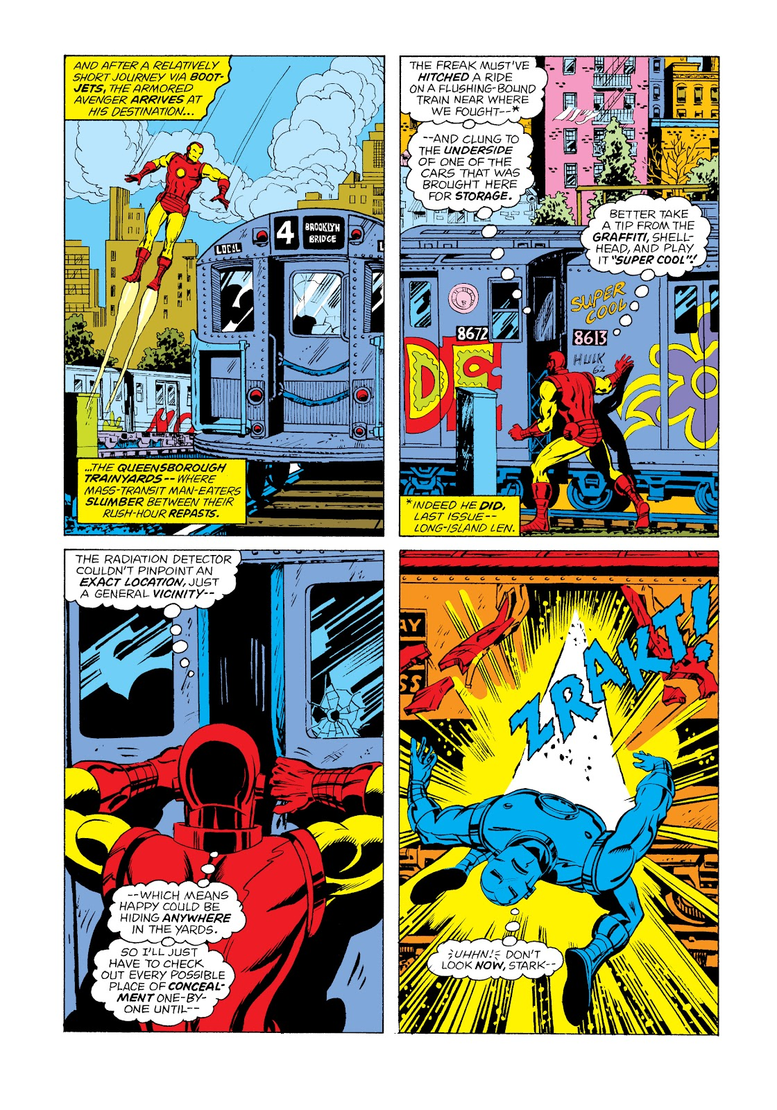 Read online Marvel Masterworks: The Invincible Iron Man comic -  Issue # TPB 11 (Part 1) - 76