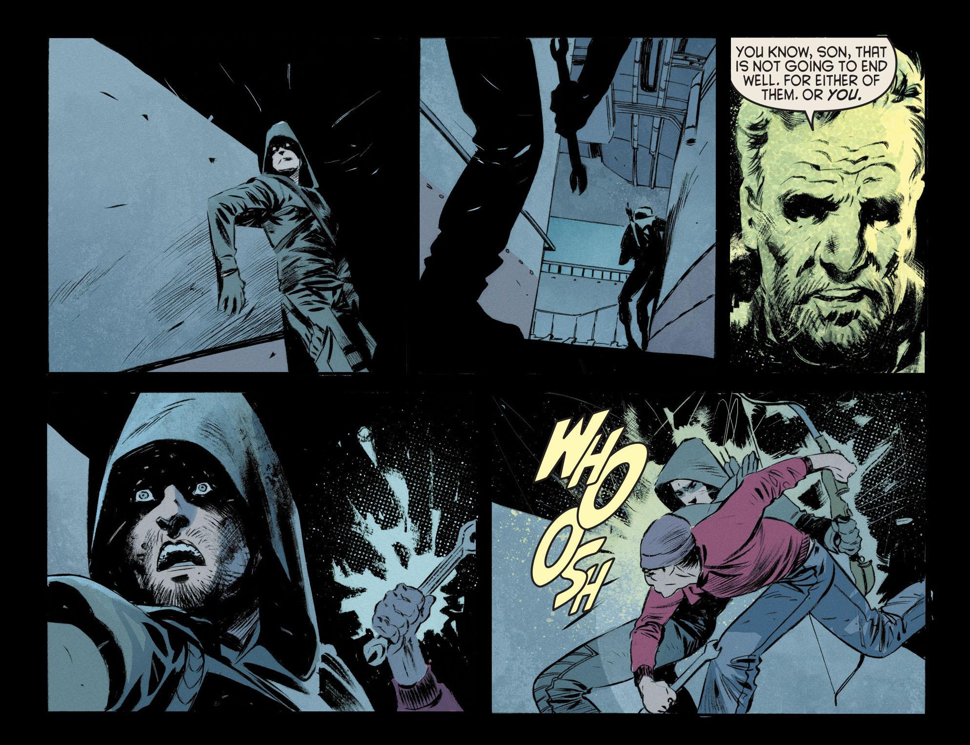 Read online Arrow [II] comic -  Issue #12 - 11