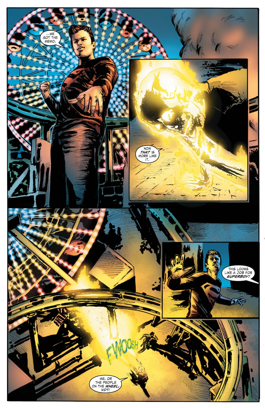 Read online Smallville Season 11 [II] comic -  Issue # TPB 7 - 135