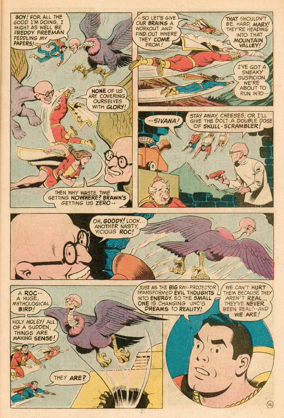 Read online Shazam! (1973) comic -  Issue #14 - 18