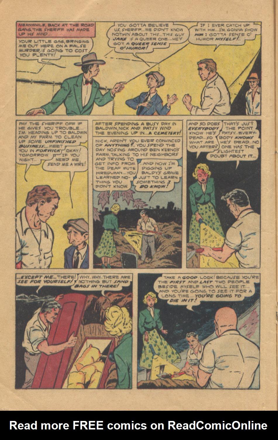 Read online Shadow Comics comic -  Issue #95 - 24