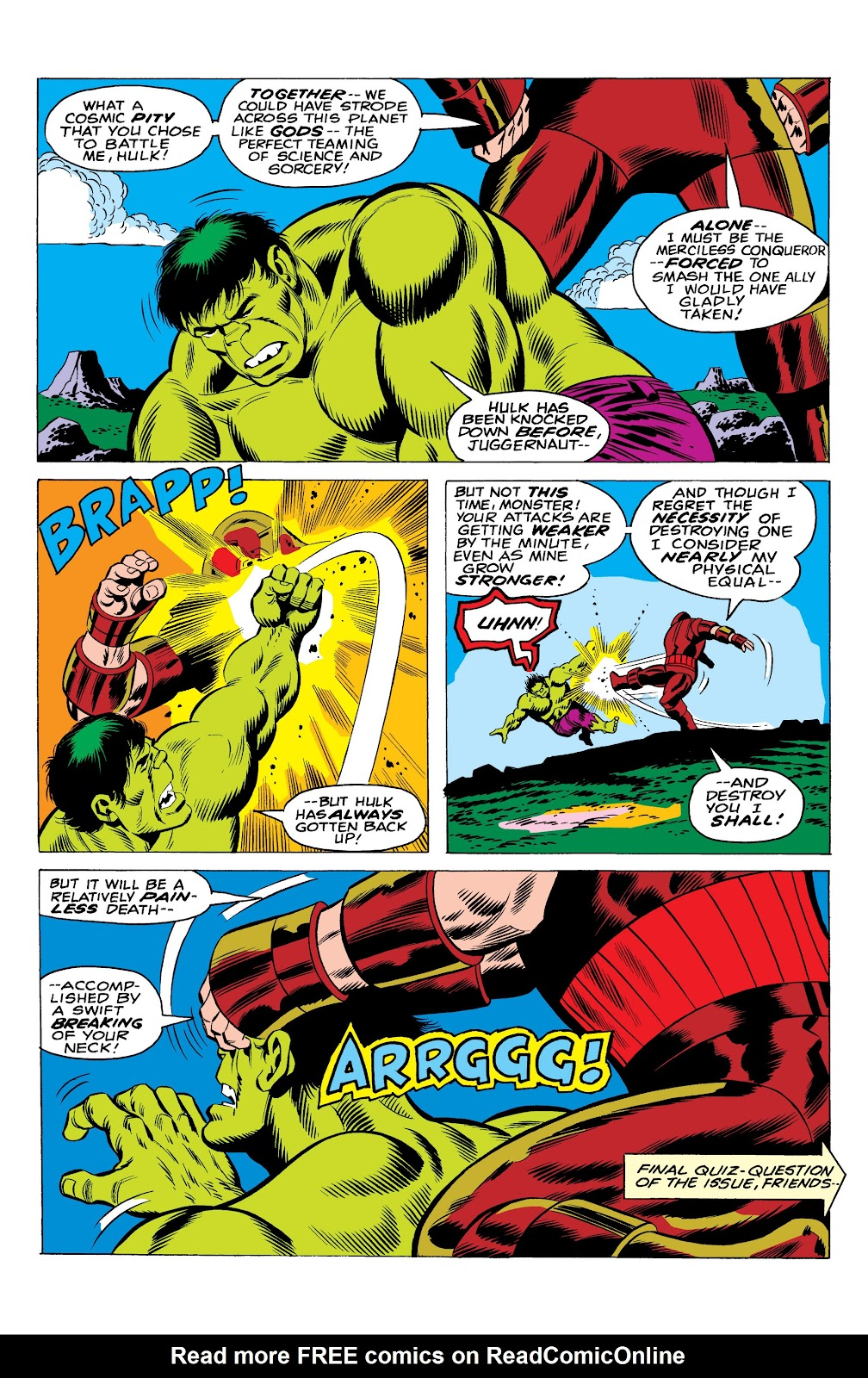 Read online Marvel Masterworks: The Incredible Hulk comic -  Issue # TPB 10 (Part 1) - 46