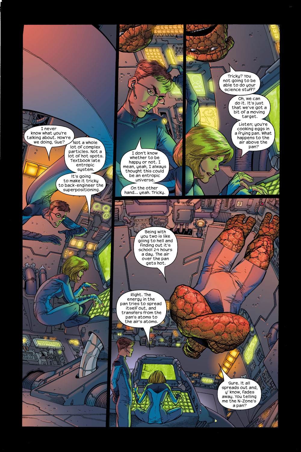 Read online Ultimate Fantastic Four (2004) comic -  Issue #15 - 4