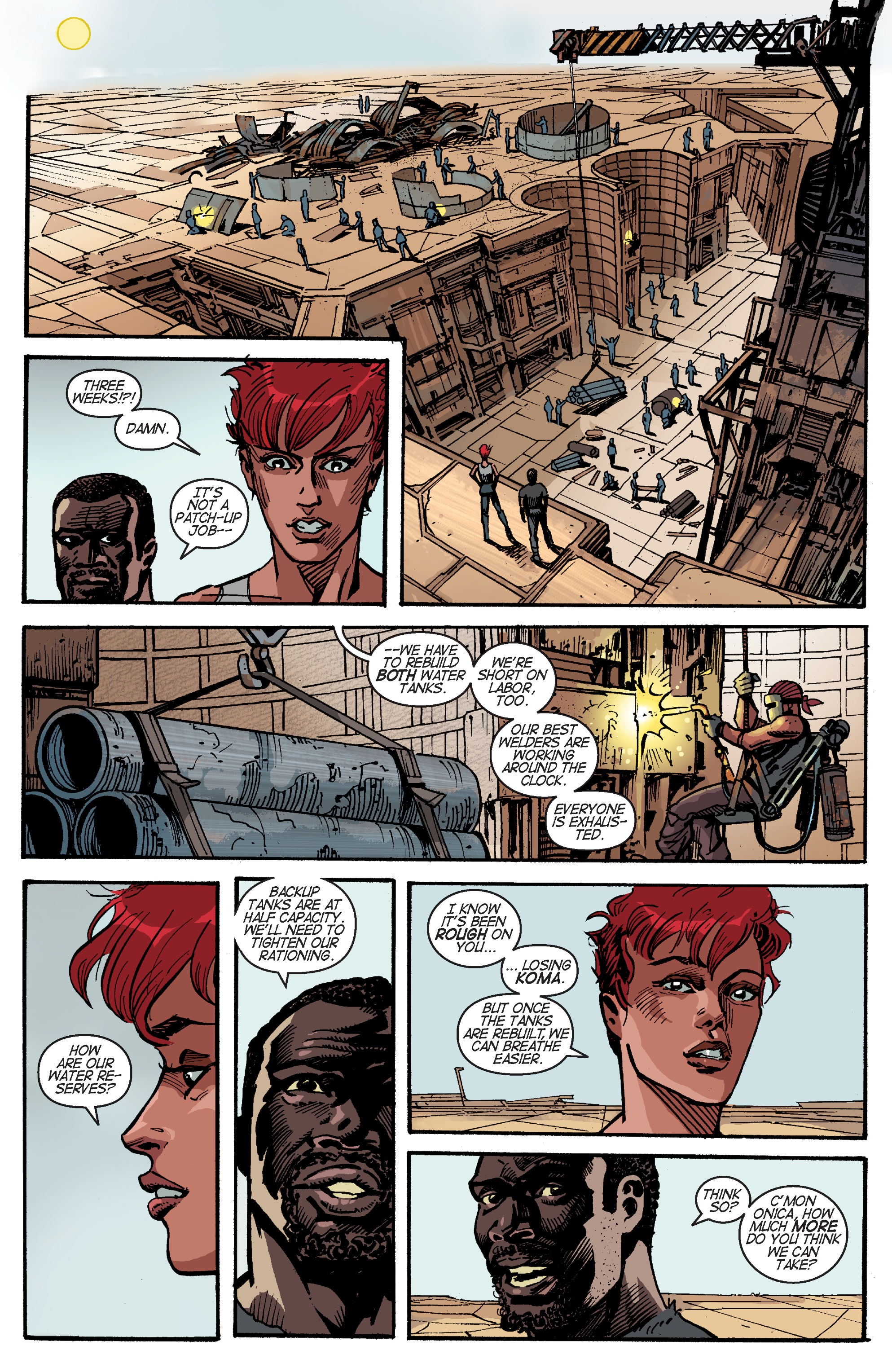 Read online Planetoid Praxis comic -  Issue #4 - 17