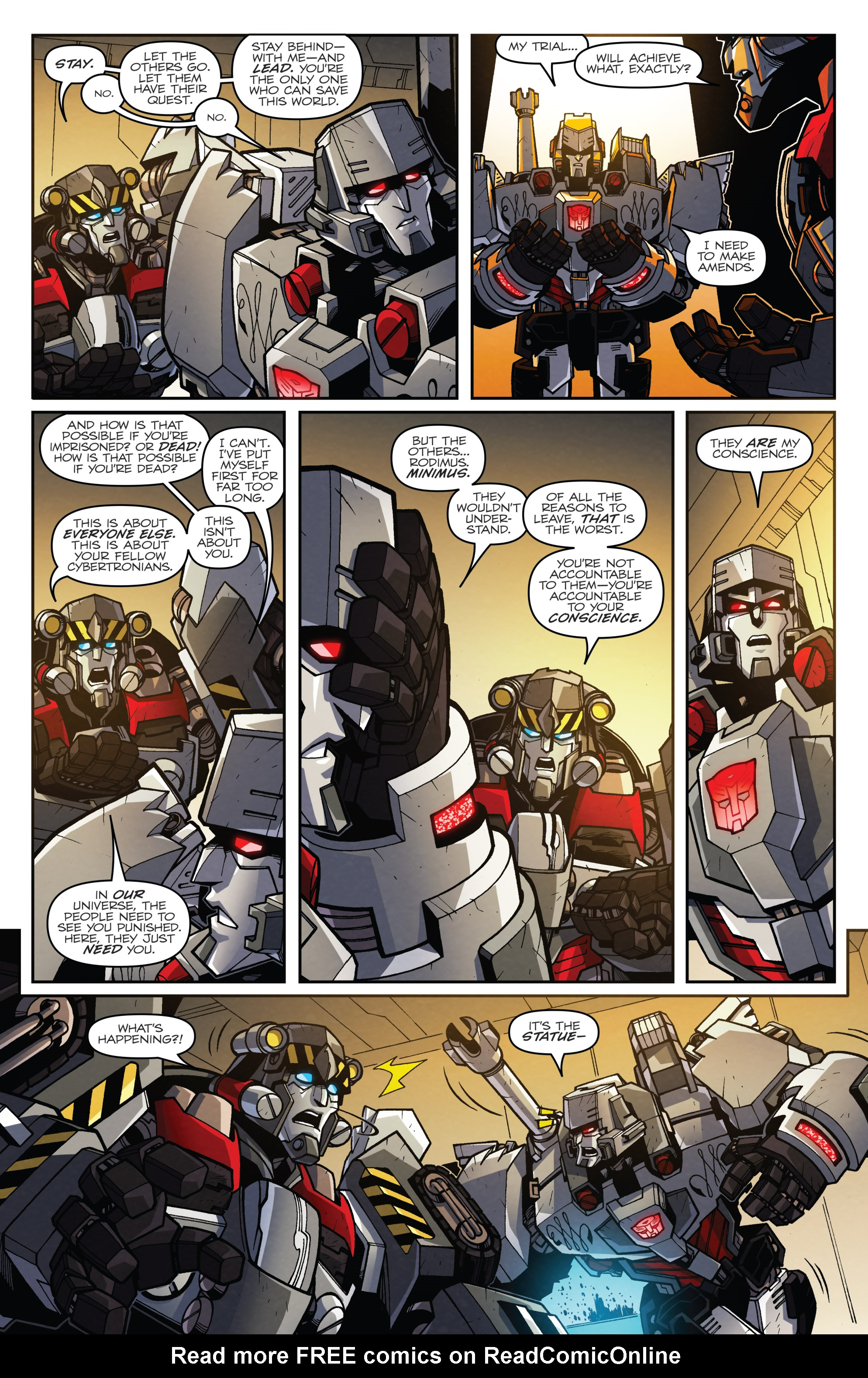 Read online Transformers: Lost Light comic -  Issue #5 - 18