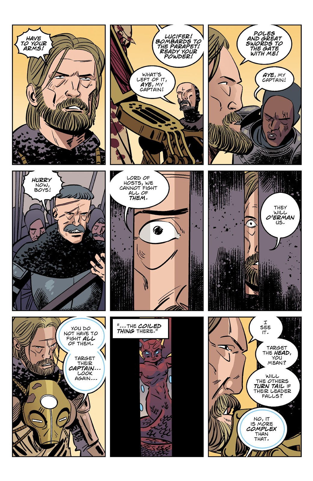Read online Dark Ages comic -  Issue #4 - 4
