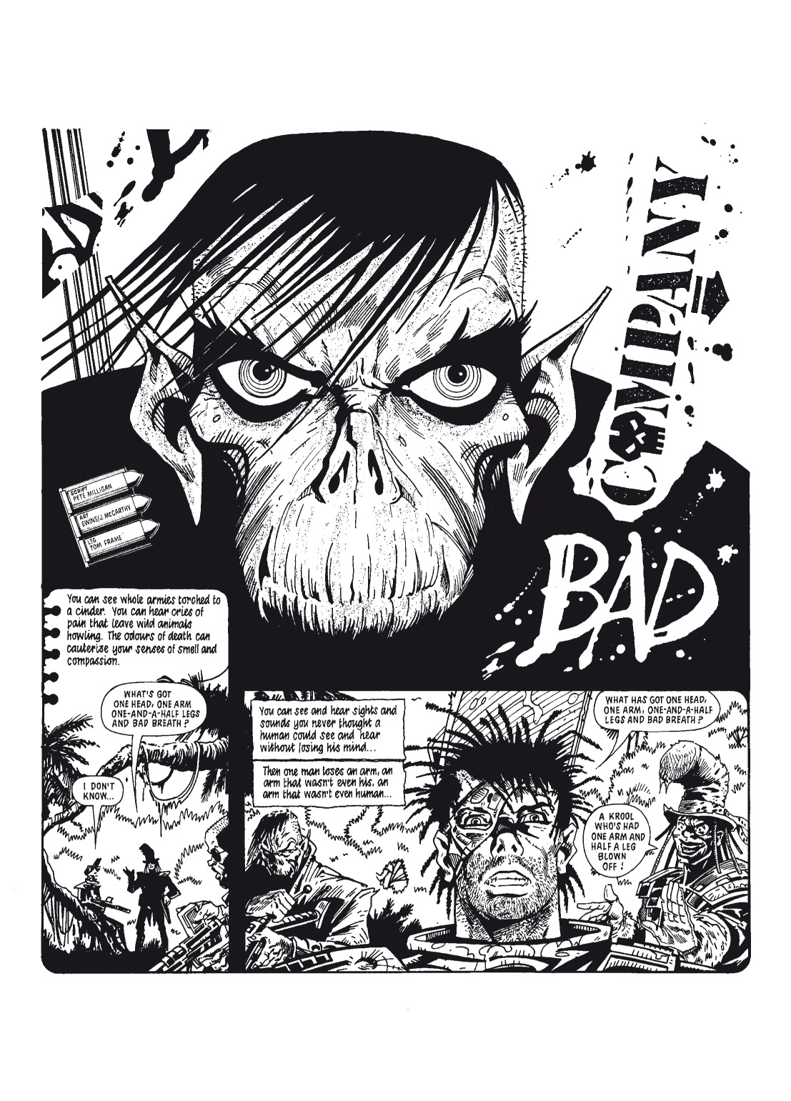 Read online The Complete Bad Company comic -  Issue # TPB - 92