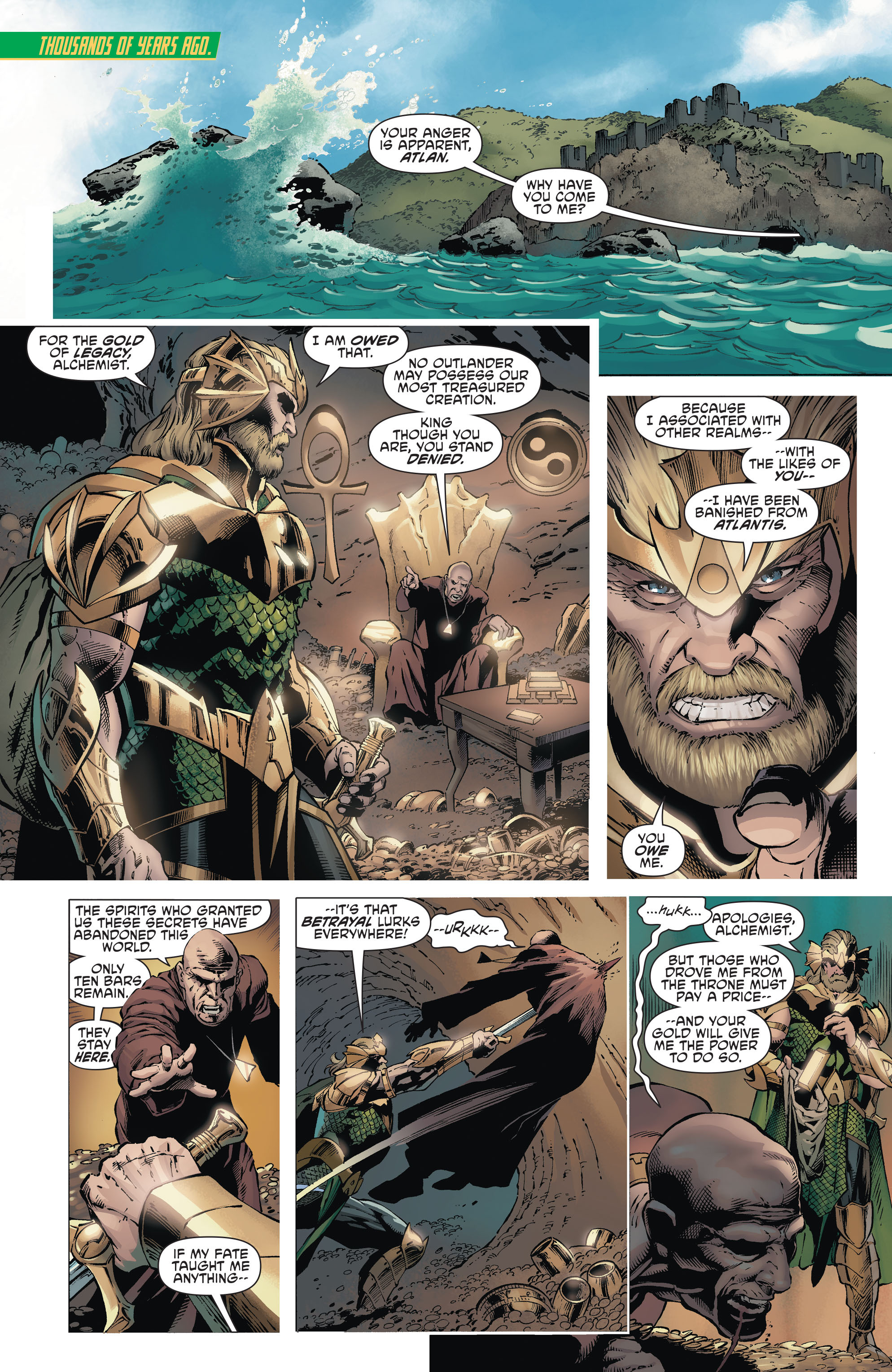 Read online Aquaman and the Others comic -  Issue #1 - 2