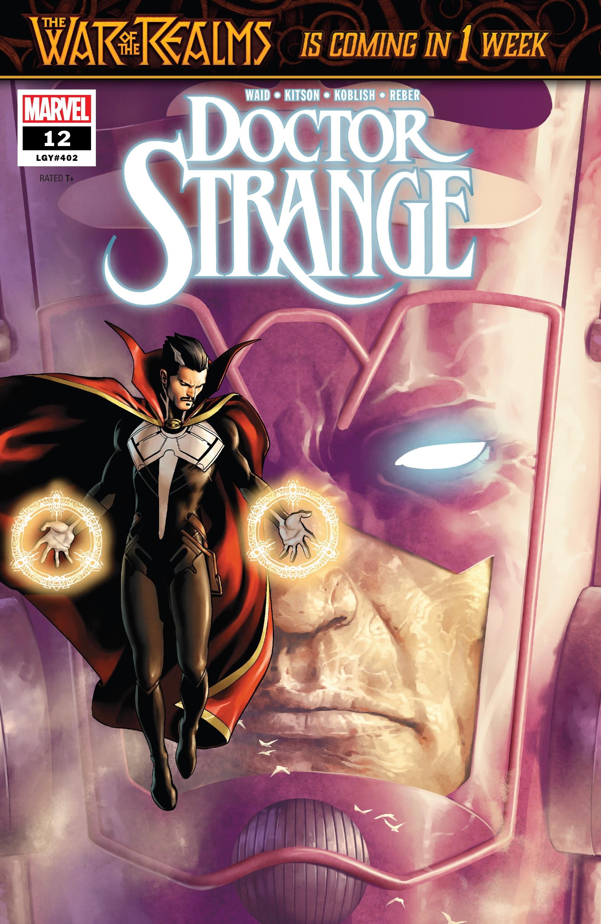 Doctor Strange (2018) 12 Page 1