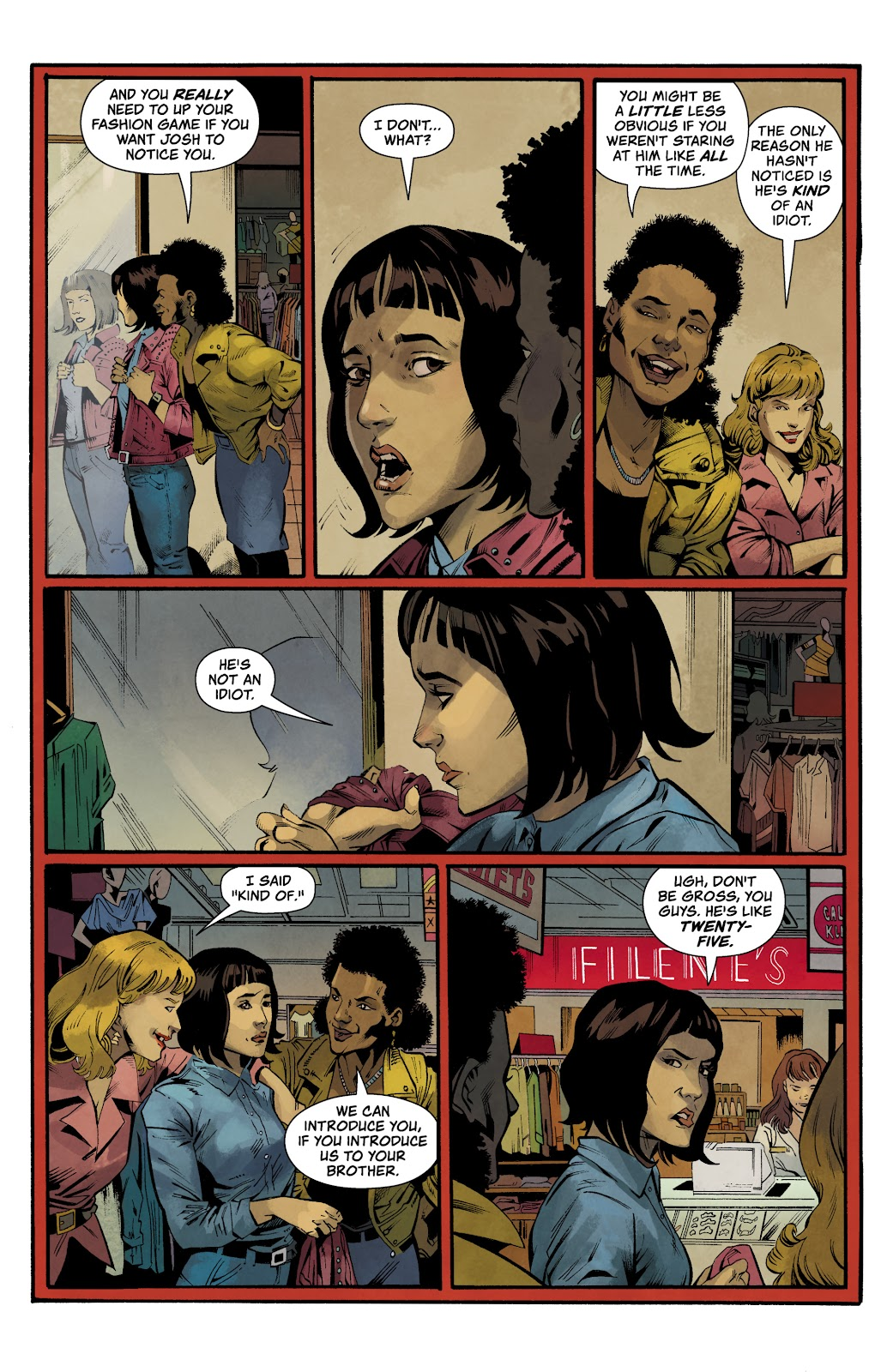 Read online Stranger Things: Into the Fire comic -  Issue #1 - 5