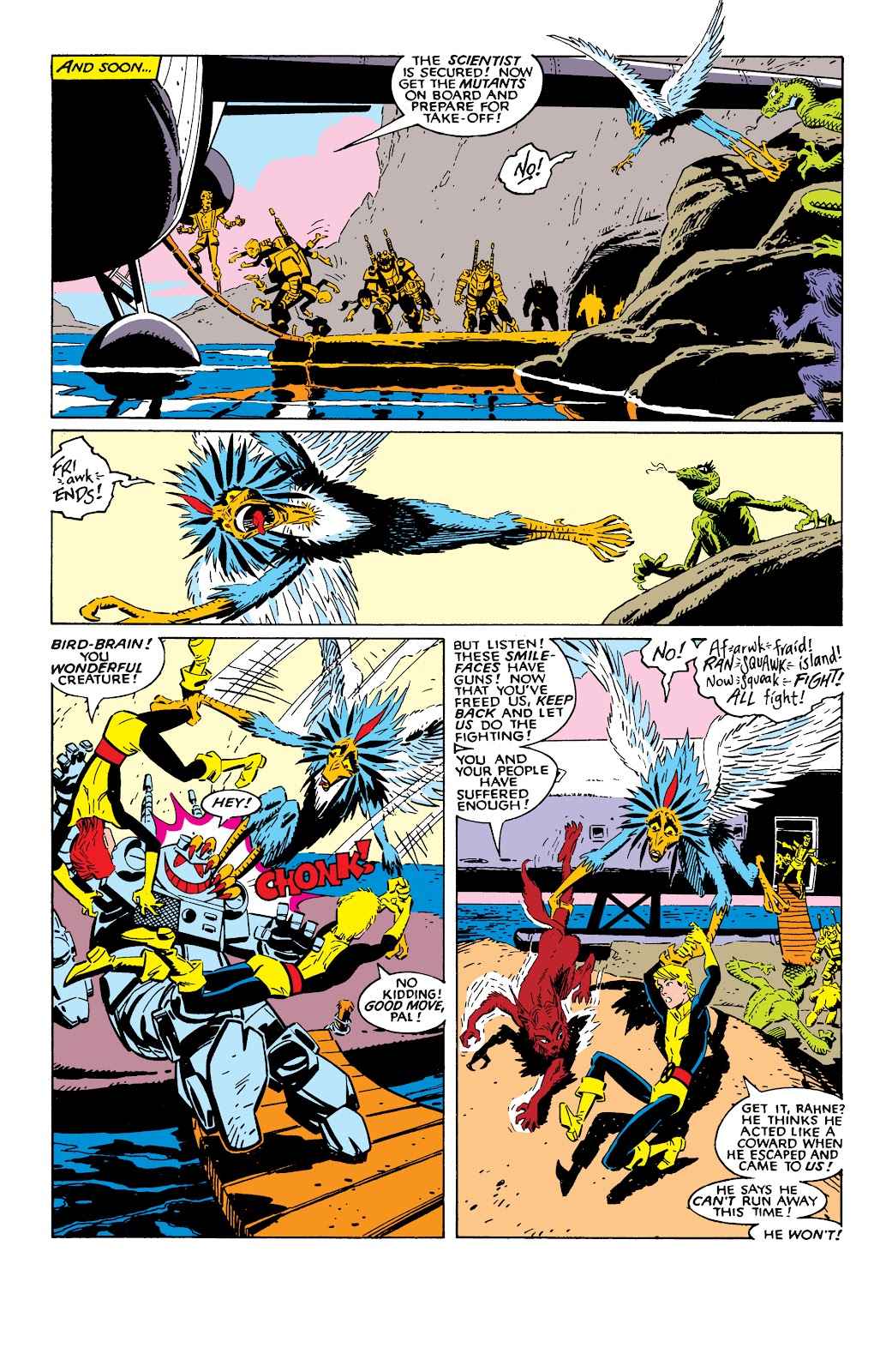 Read online X-Men Milestones: Fall of the Mutants comic -  Issue # TPB (Part 2) - 44