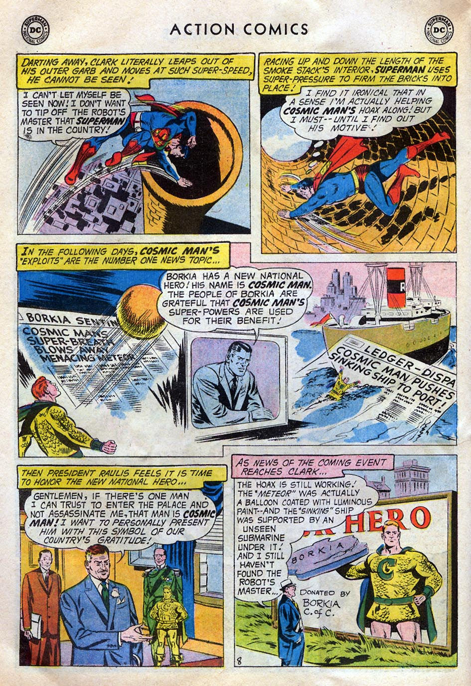 Read online Action Comics (1938) comic -  Issue #258 - 10