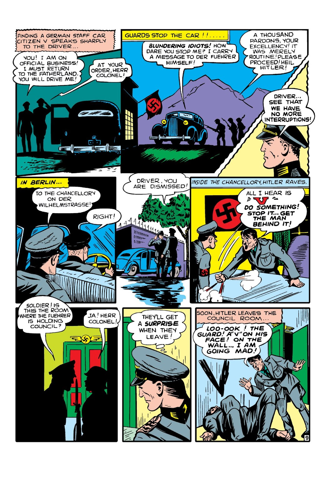 Daring Mystery Comics issue 8 - Page 11