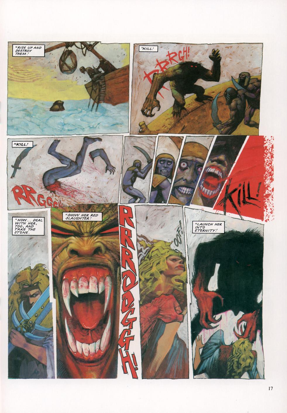Read online Slaine: The Horned God (1993) comic -  Issue #4 - 18