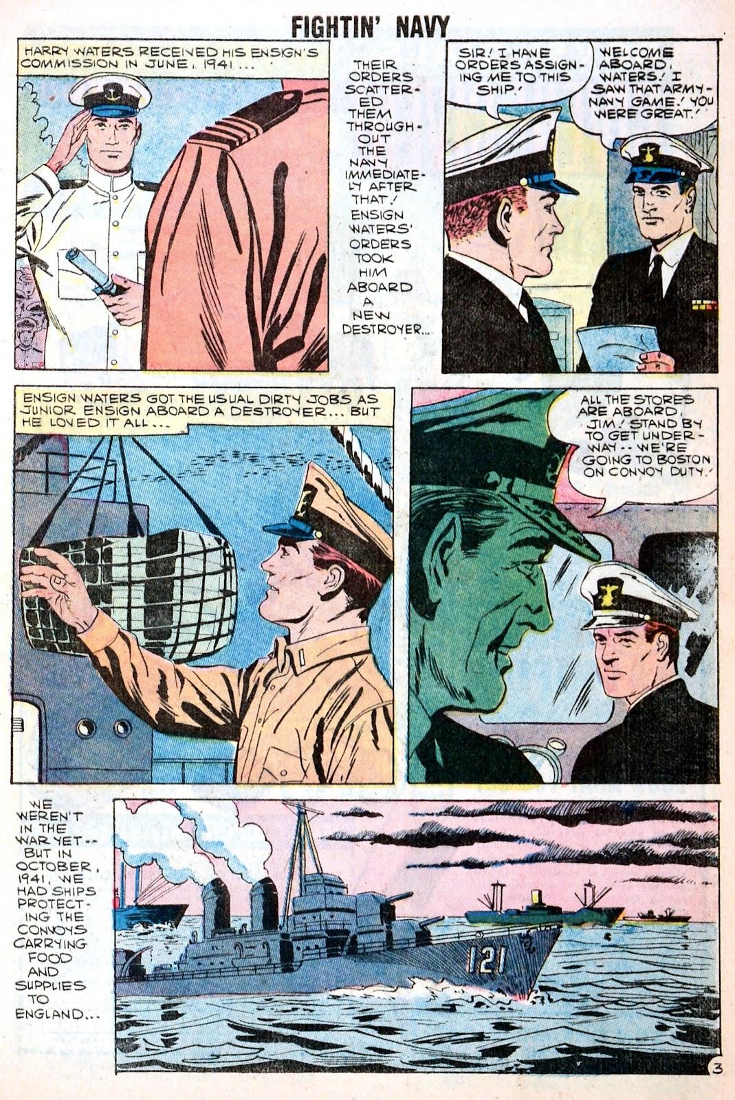 Read online Fightin' Navy comic -  Issue #85 - 5