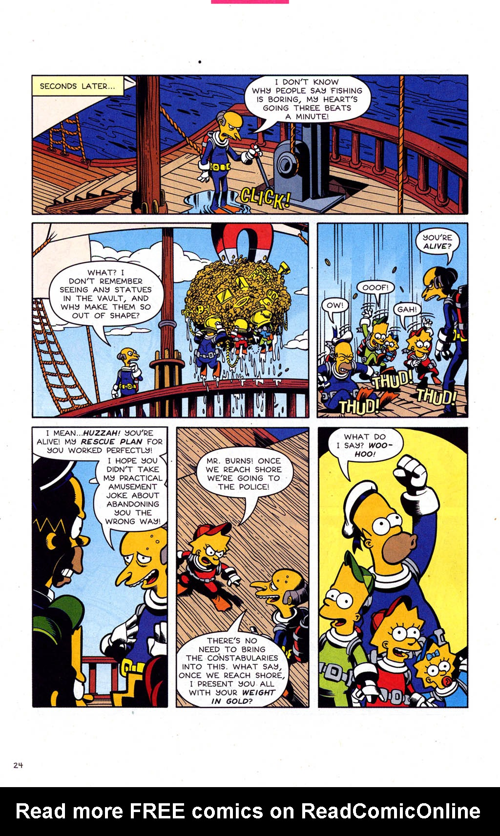 Read online Simpsons Comics comic -  Issue #102 - 25