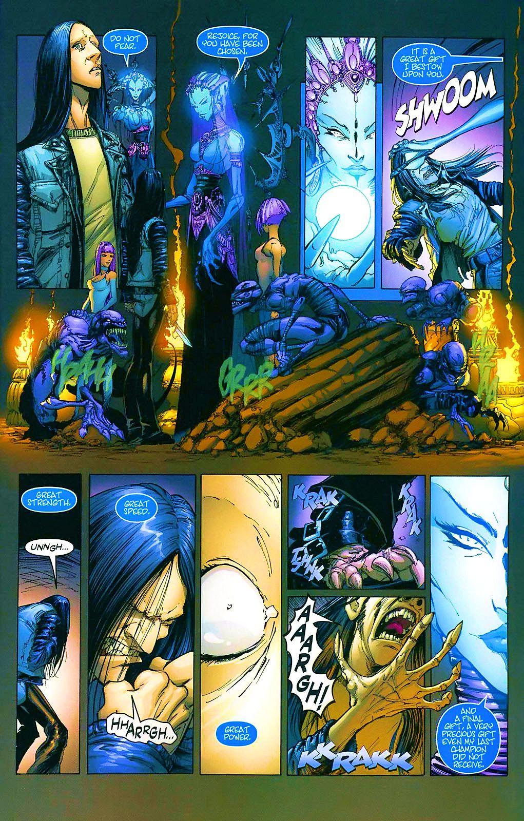 Read online Wraithborn comic -  Issue #4 - 23