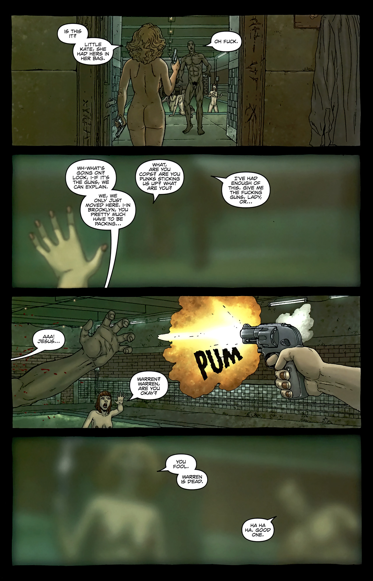 Read online Alan Moore's Neonomicon comic -  Issue #2 - 26