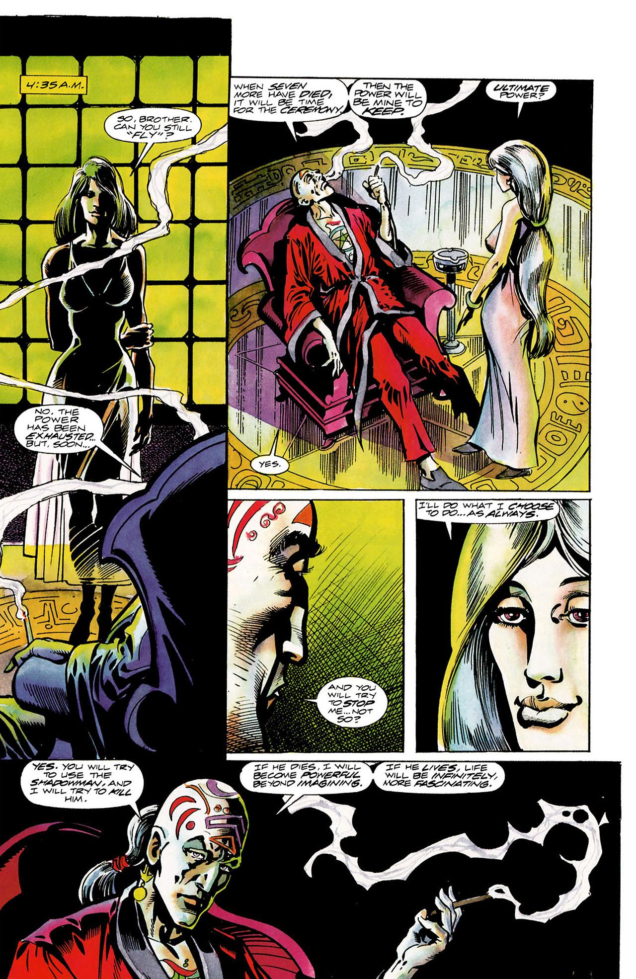 Read online Shadowman (1992) comic -  Issue #11 - 20