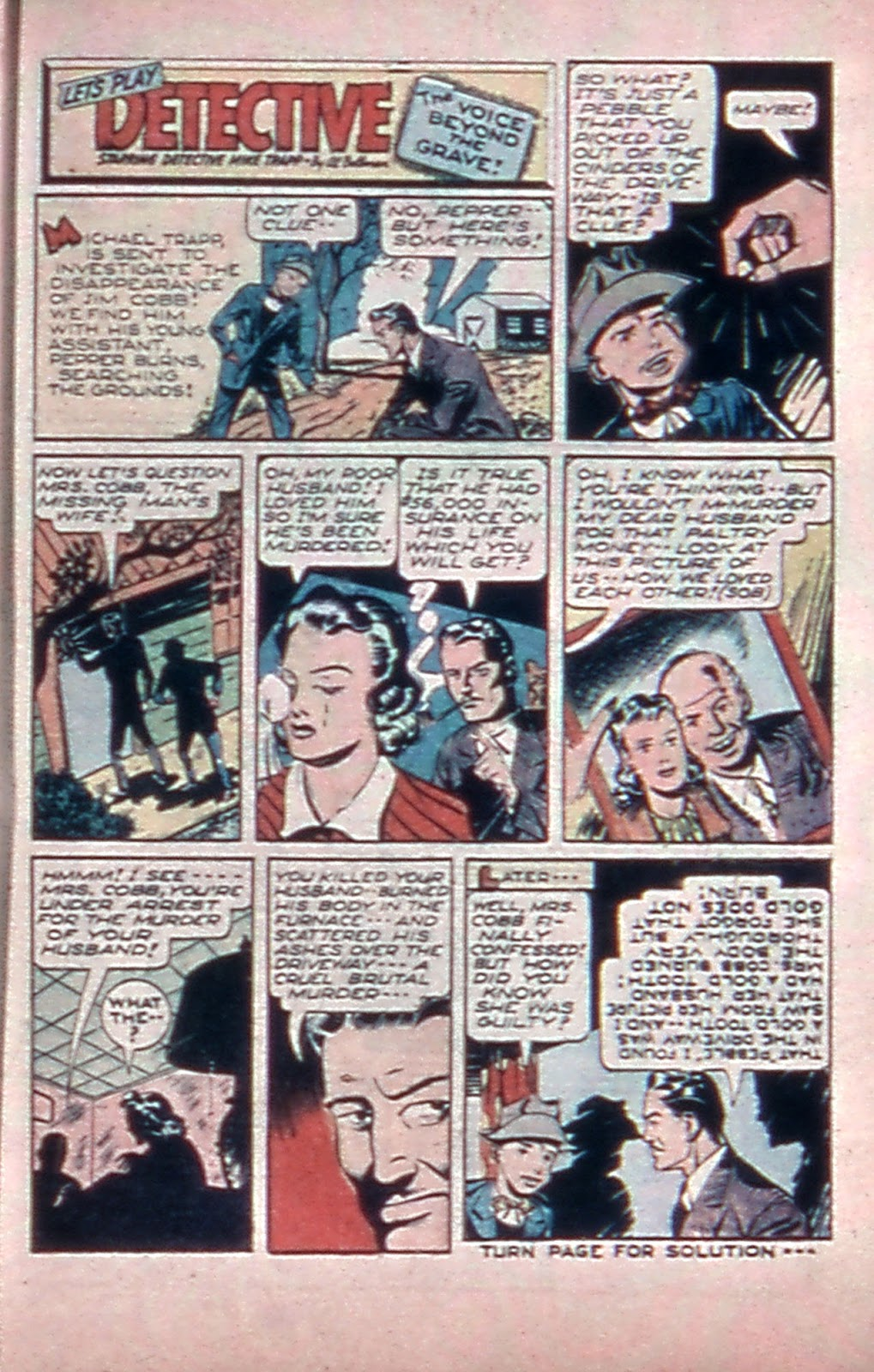 Read online Mystic Comics (1944) comic -  Issue #4 - 33