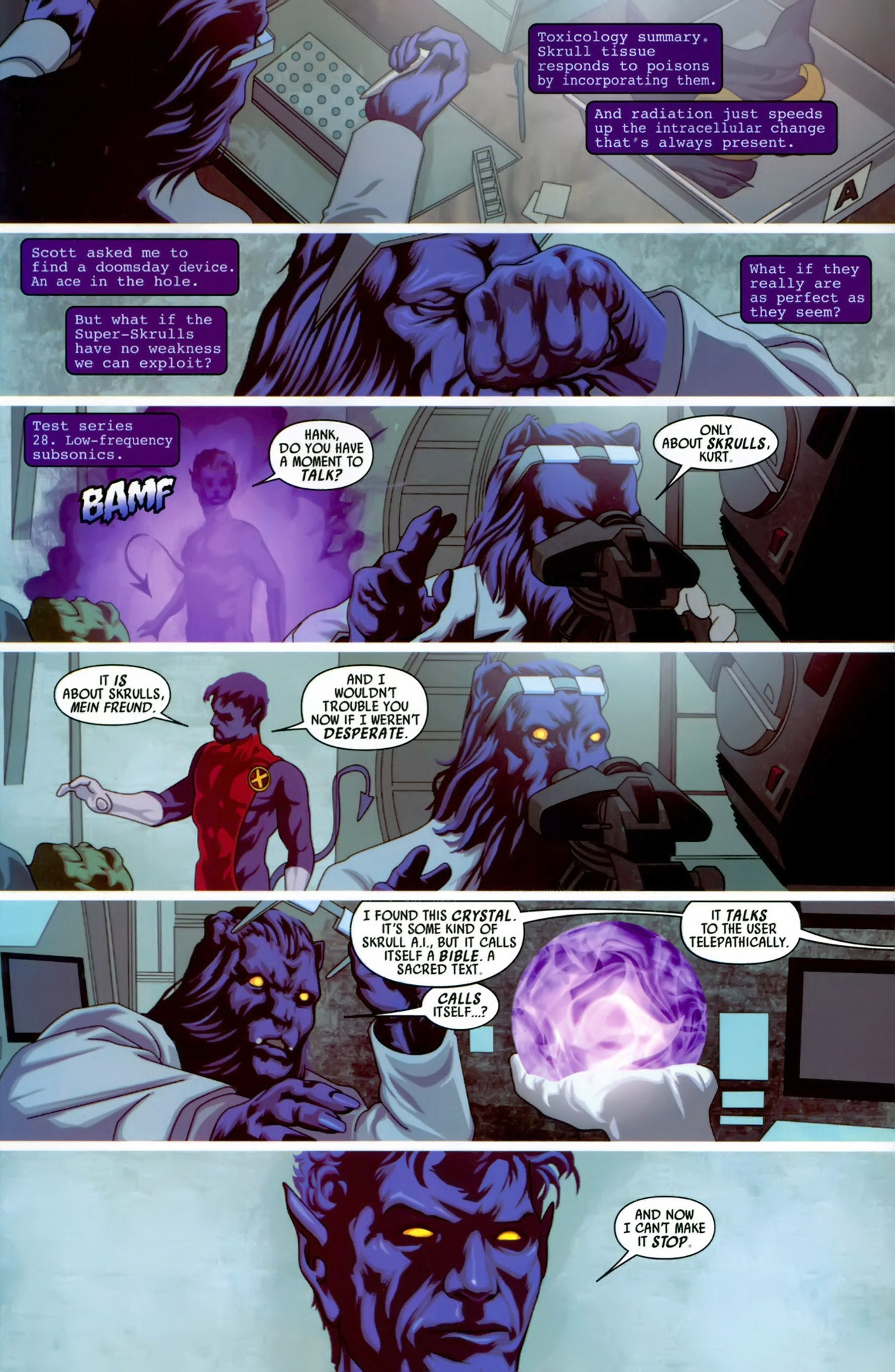Read online Secret Invasion: X-Men comic -  Issue #3 - 18