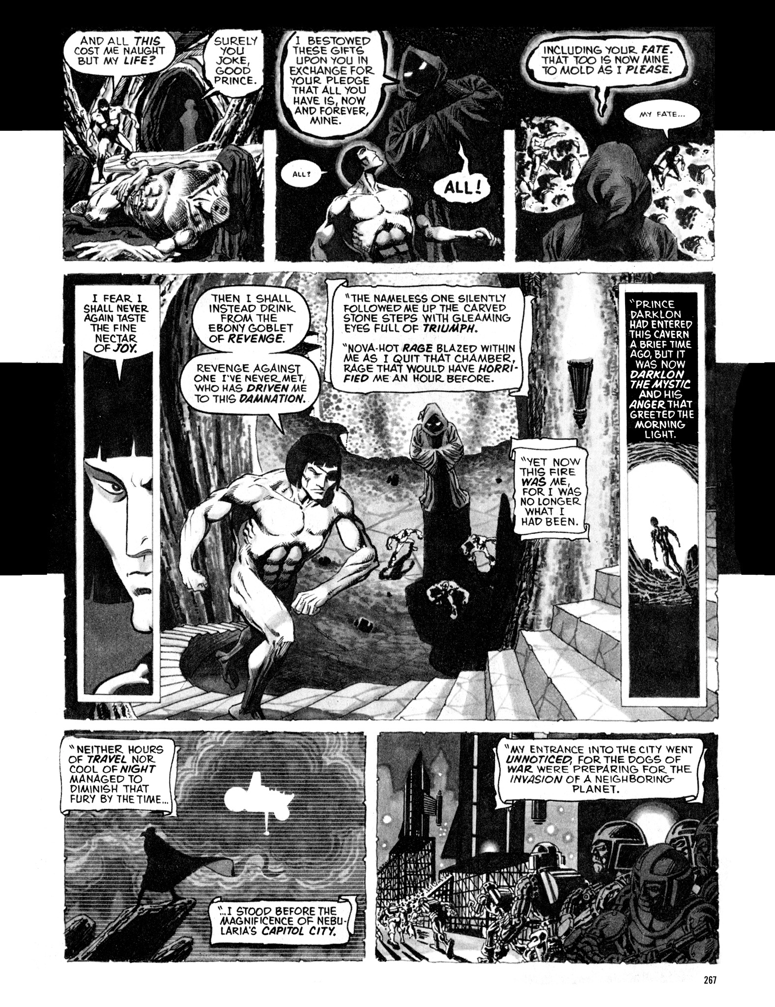 Read online Eerie Archives comic -  Issue # TPB 16 - 268