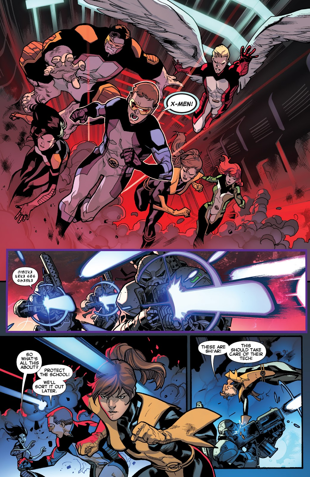 Guardians of the Galaxy/All-New X-Men: The Trial of Jean Grey issue TPB - Page 14