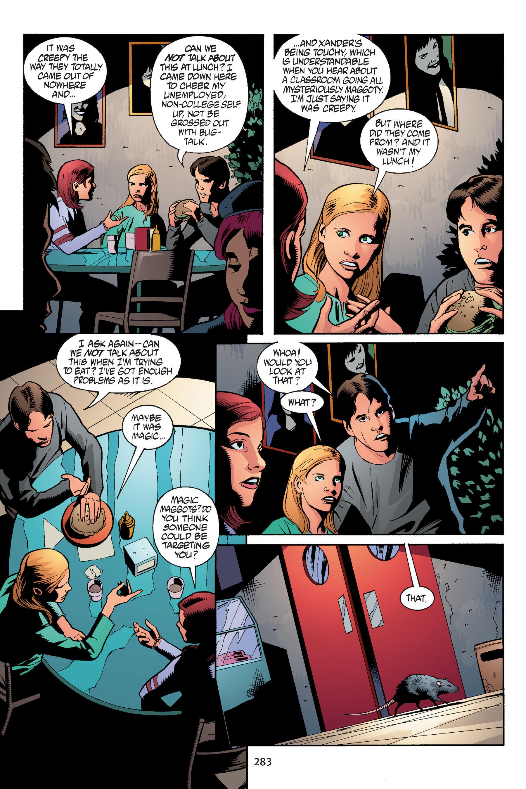 Read online Buffy the Vampire Slayer: Omnibus comic -  Issue # TPB 5 - 282