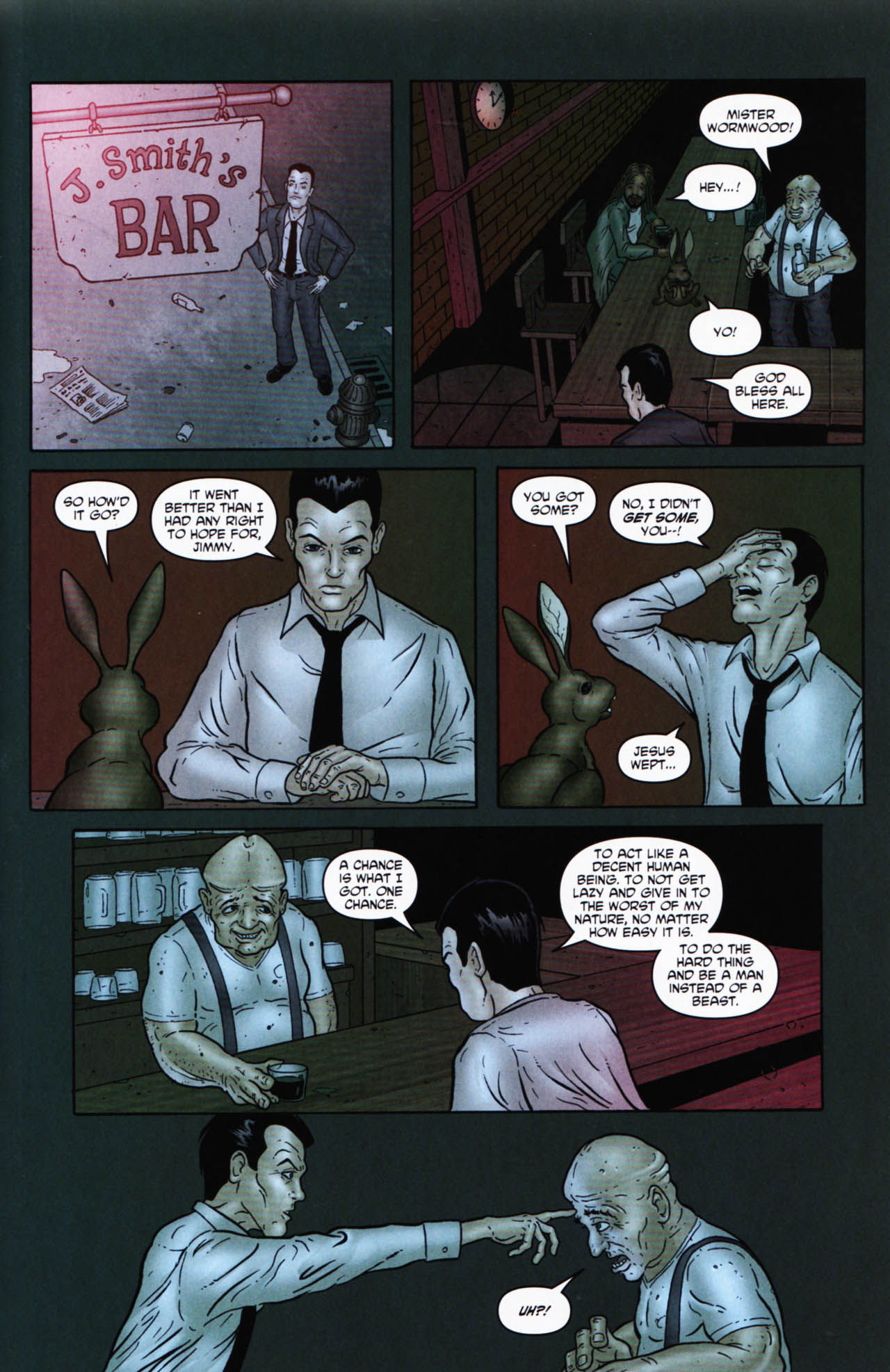 Read online Chronicles of Wormwood: The Last Enemy comic -  Issue # Full - 43