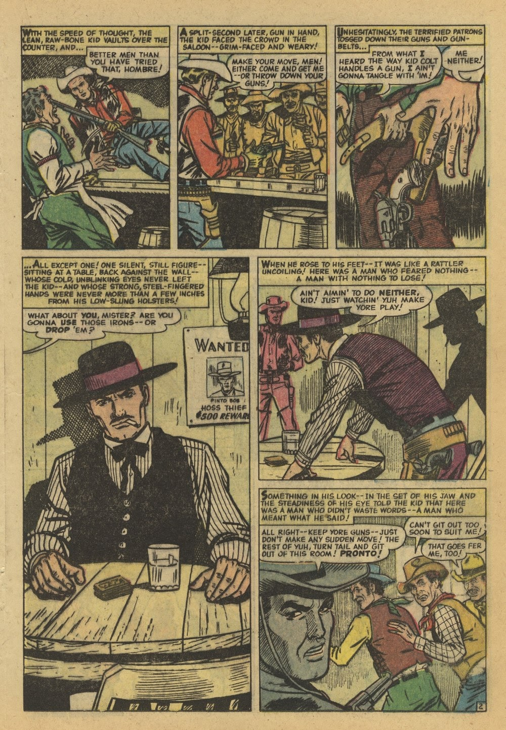 Kid Colt Outlaw issue 82 - Page 17