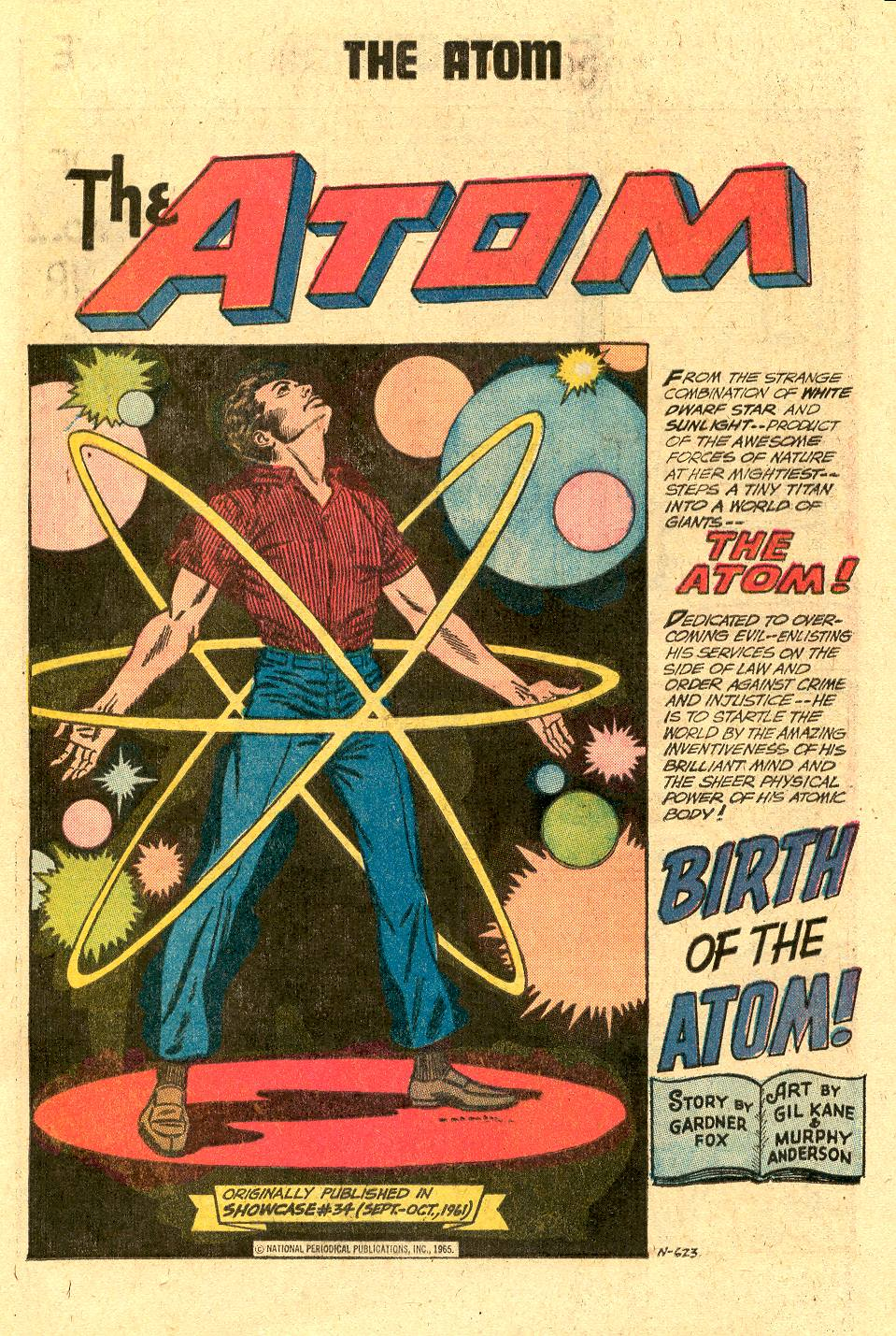 Read online Secret Origins (1973) comic -  Issue #2 - 21
