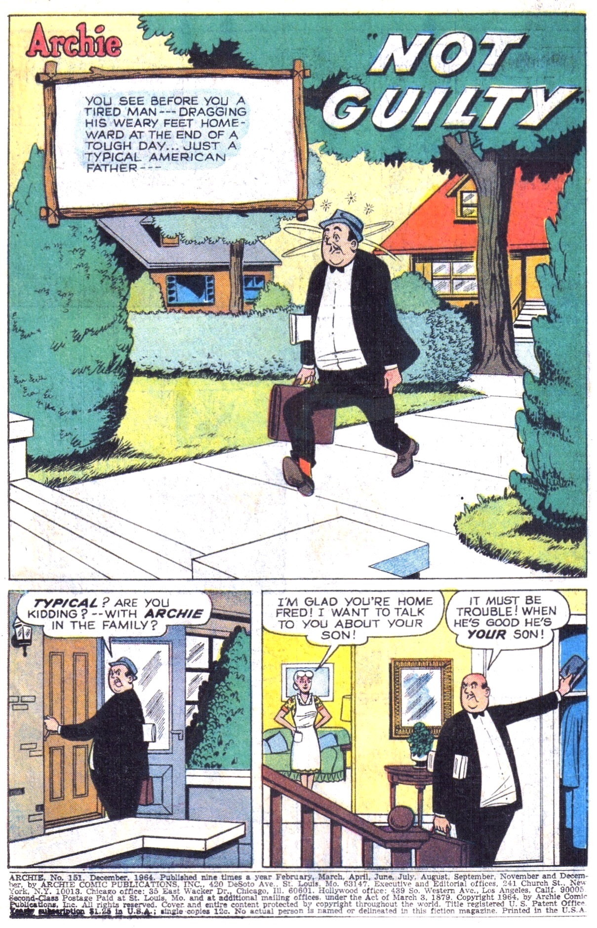 Read online Archie (1960) comic -  Issue #151 - 3