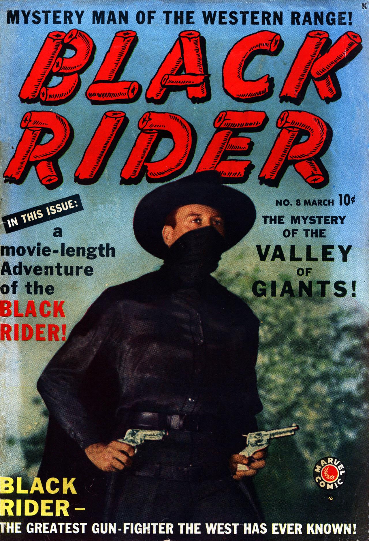 Black Rider 8 Page 1